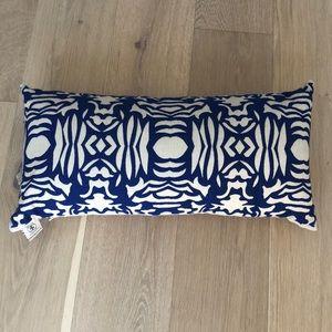 Elaine Smith Indoor/Outdoor Ikat Bolster Pillow